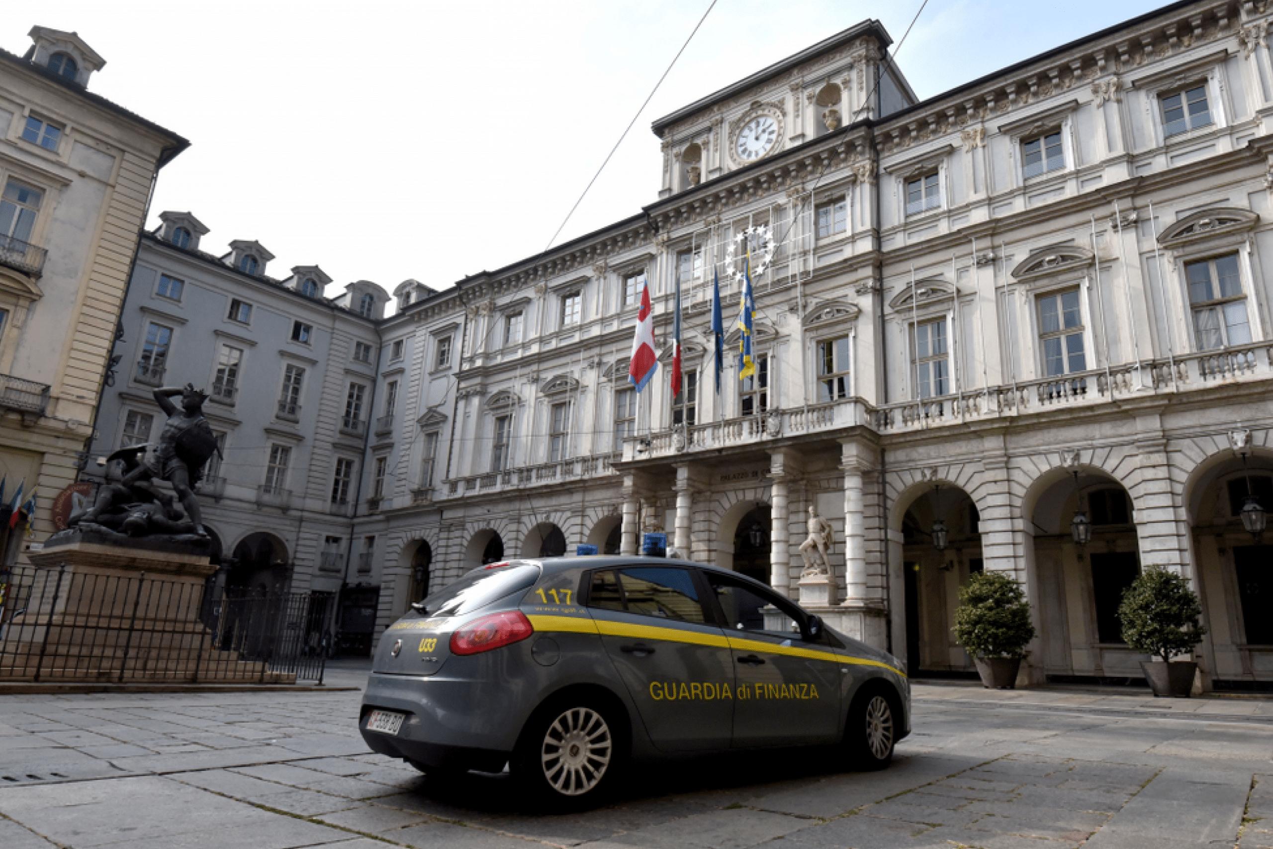Guardia di Finanza a Torino