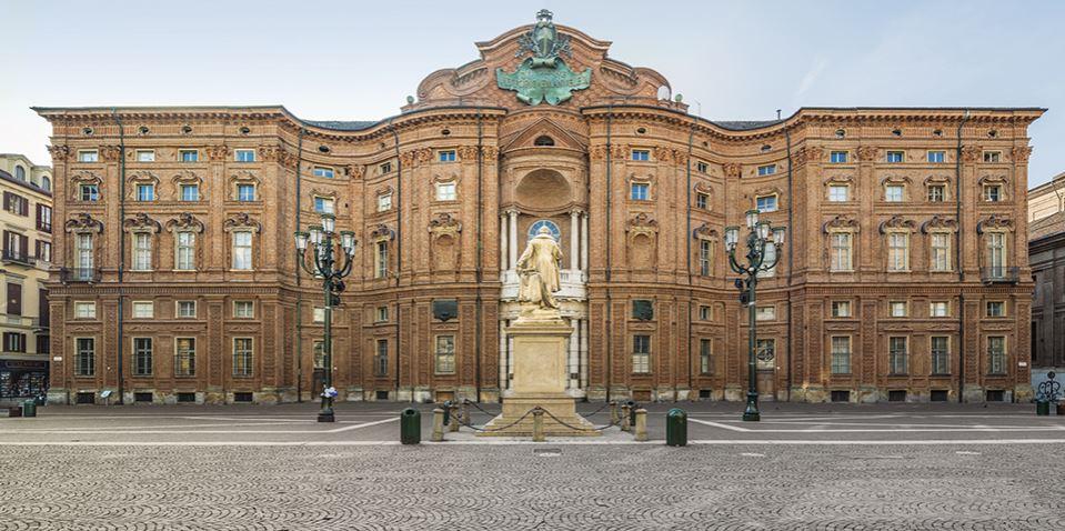 palazzo carignano torino storia