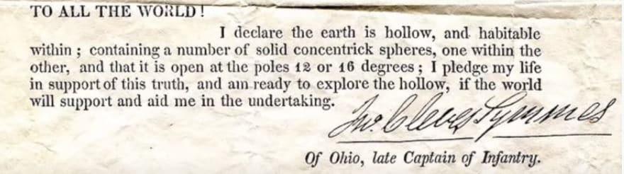 teoria della terra cava